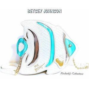 Betsey Johnson Fish 🐠 Handbag Purse NWT